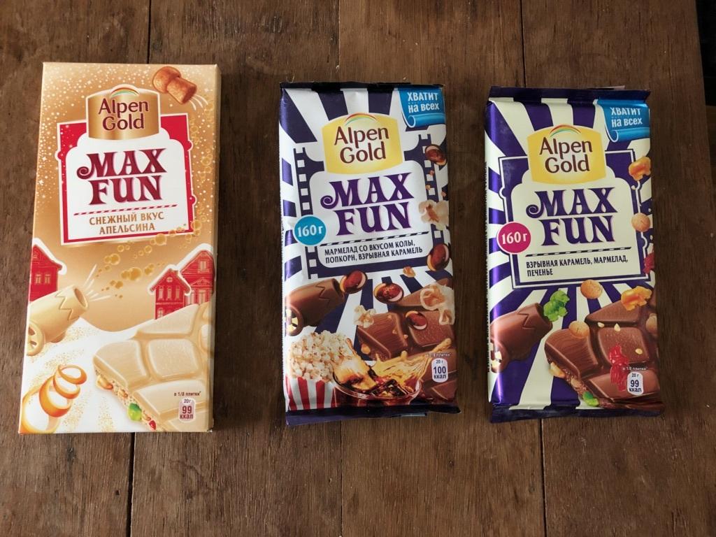 旧ソ連時代の国々で売られてるらしいチョコ