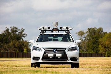 12 自動運転実験車改良版 3