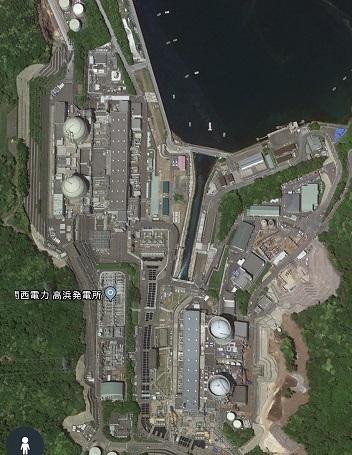 関電高浜原発 グーグル