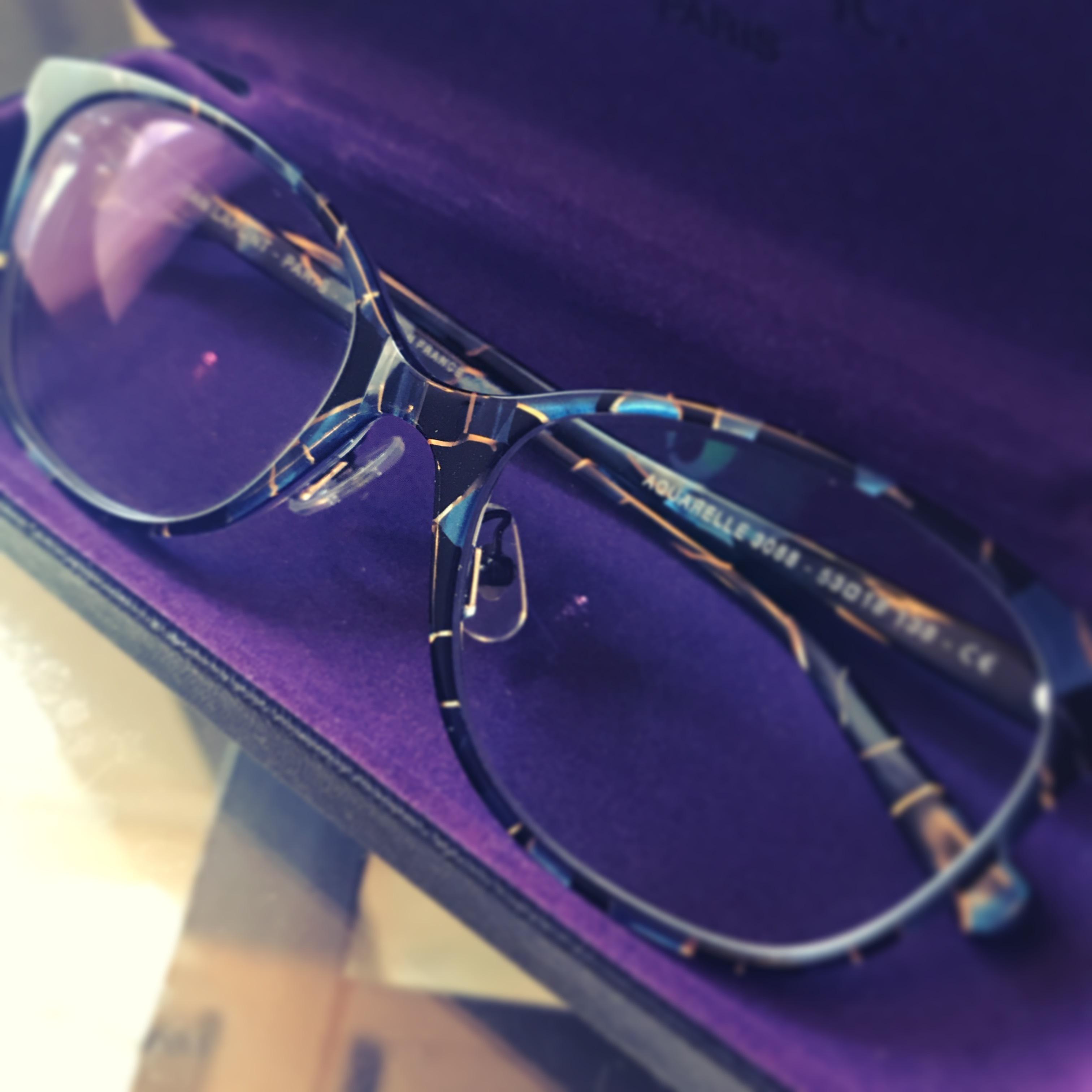 新しいメガネ、そして2017年と