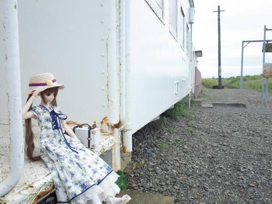 浜厚真駅20