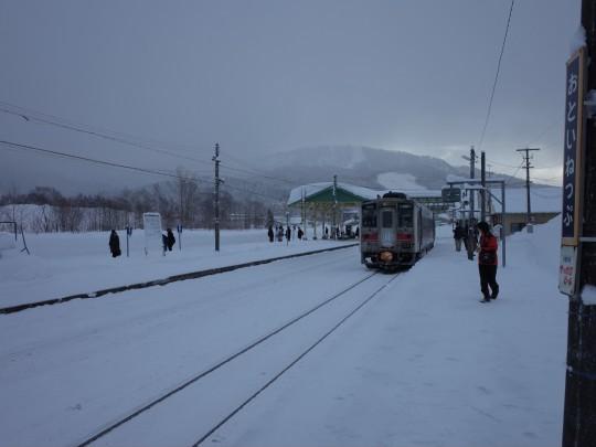 音威子府駅01