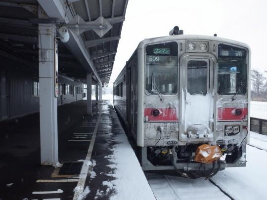 幌延駅10
