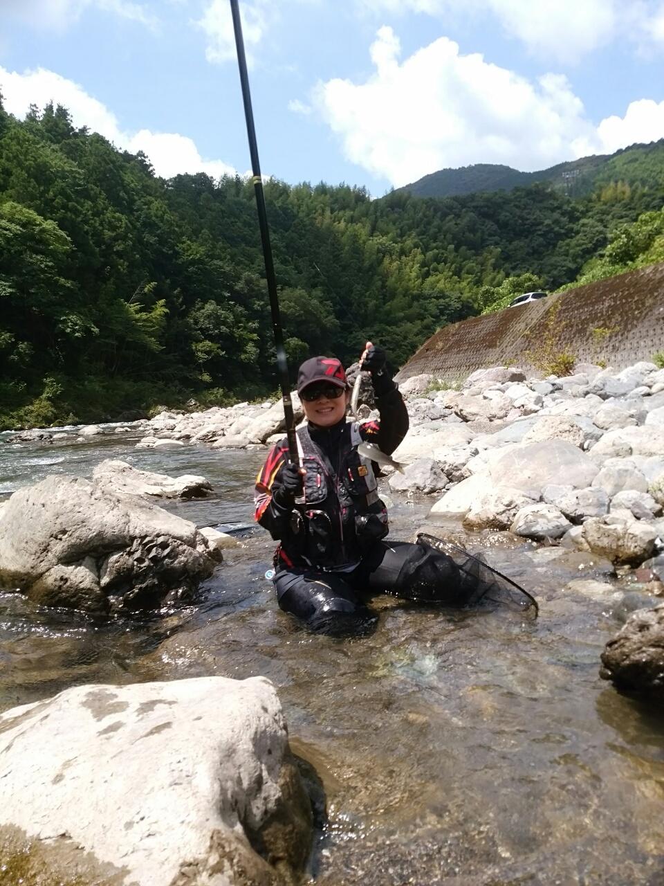 【釣果情報】鮎友釣り2年目