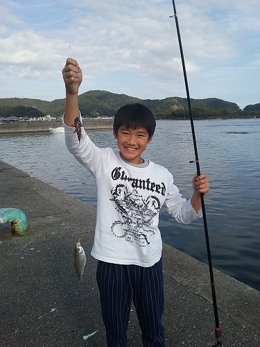 【釣果情報】松ちゃん店長(ファミリー教室)②