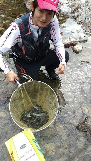 【釣果情報】友釣り体験