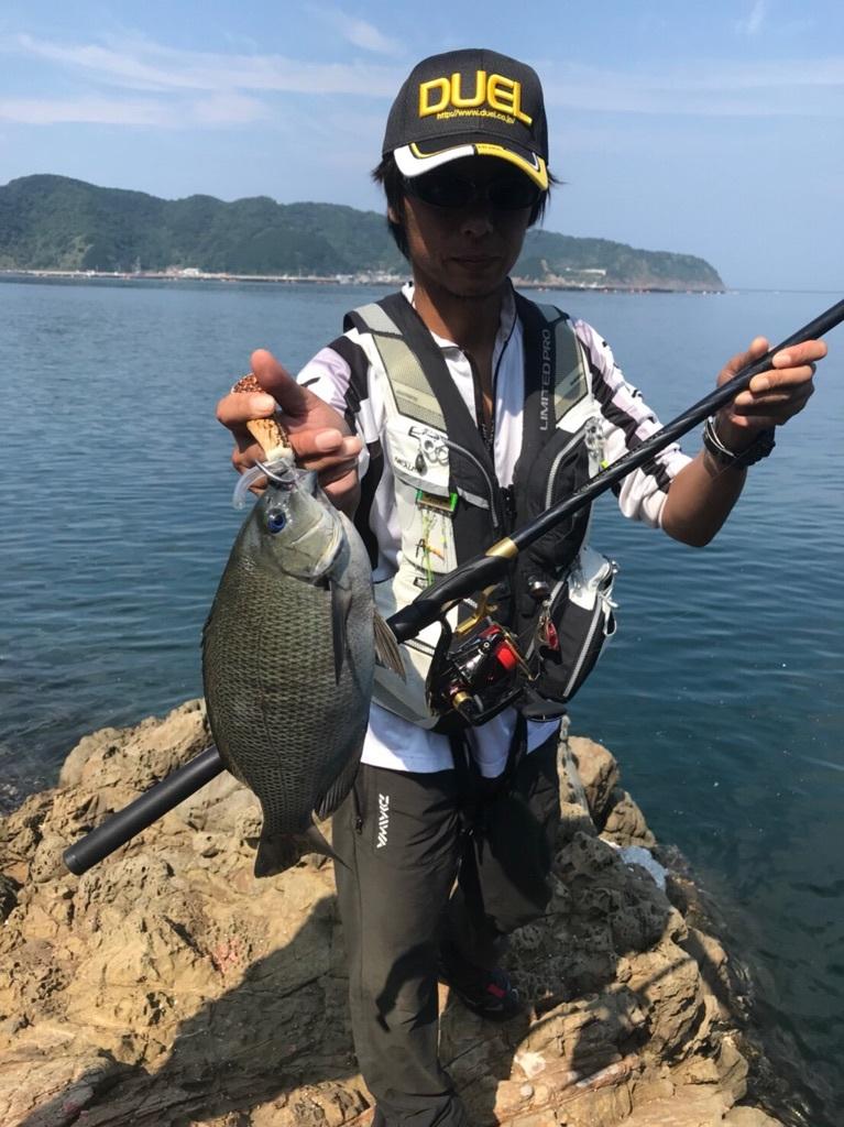 【釣果情報】新製品を使いに日振島へ②