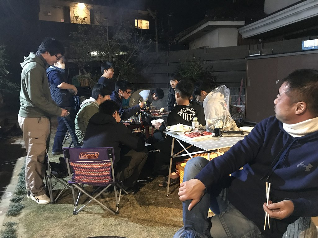 20171229自宅BBQ (11)