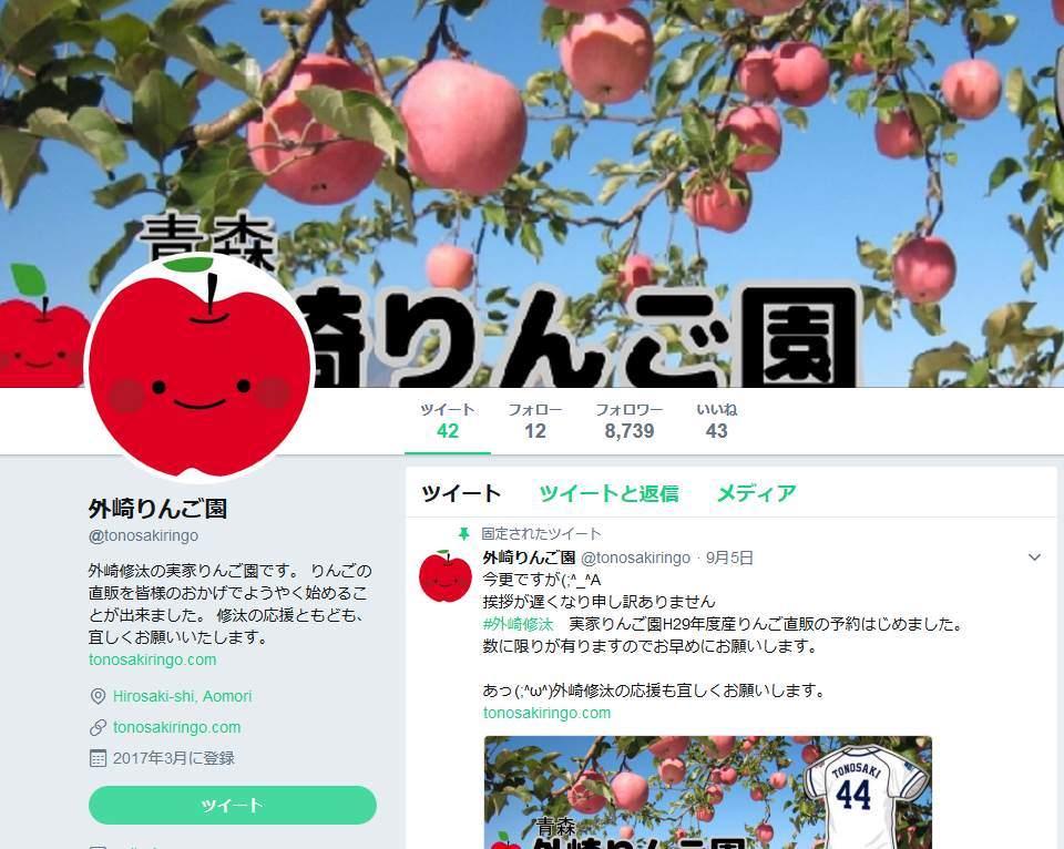 外崎りんご1