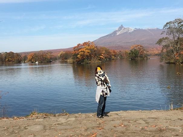 大沼公園と駒ケ岳20171026