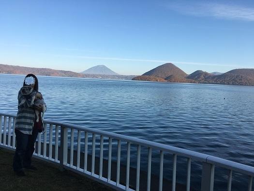洞爺湖の朝~20171027