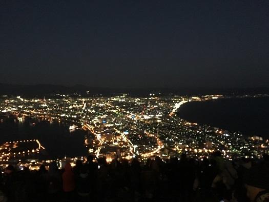 函館山夜景20171027