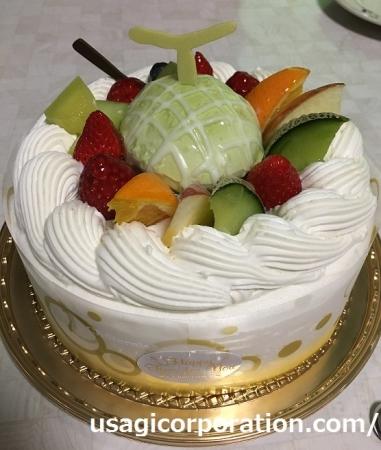 2017 0512 デコレーションケーキ