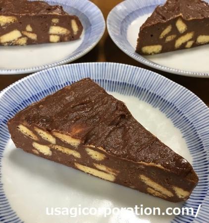 2017 0708 チョコレートチーズケーキ
