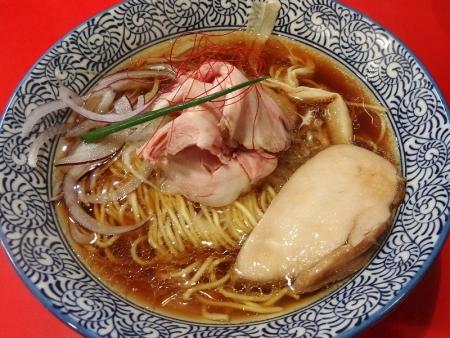 鶏そば 醤油 770円