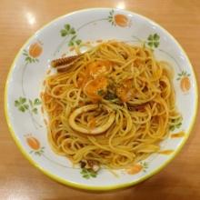 トマトクリームスパゲッティ