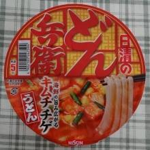 どん兵衛 キムチチゲうどん 148円