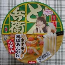 どん兵衛 生姜香る 鶏塩あんかけうどん 105円