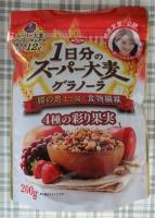 1日分のスーパー大麦グラノーラ 4種の彩り果実 200g