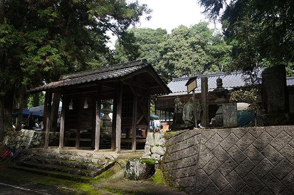 美咲町大垪和の一宮八幡神社