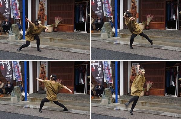 コンテンポラリーダンス・山口佳子氏による「狐の嫁入り」