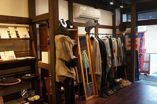 古民家カフェ&雑貨 『シーズ藤原家』の店内の様子
