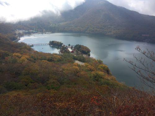 大沼と赤城神社