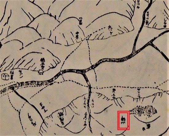 山神社古地図