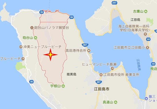 s-グーグル地図 三高ダム