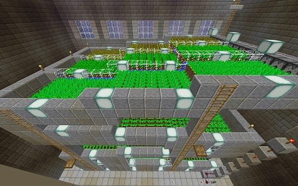 600.375、ビル地下の自動収穫装置
