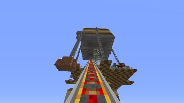 600.337、天空トラップタワー作った