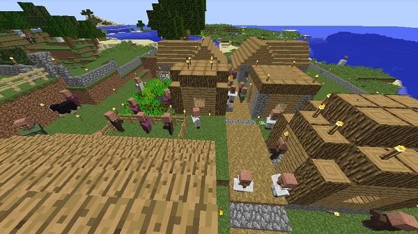 600.337、村人増えましたw
