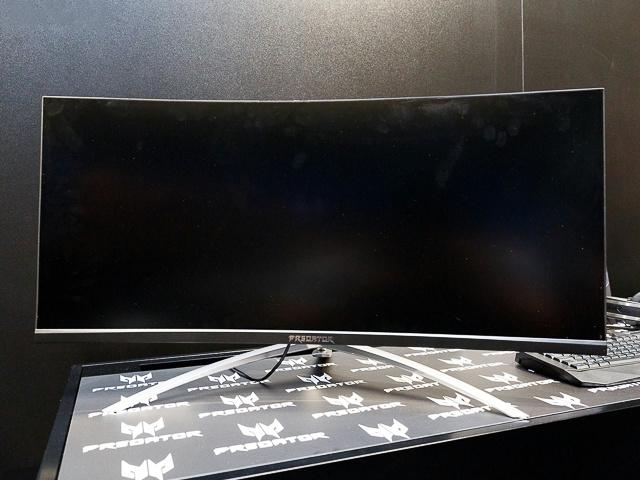 Acer、UWQHD/200Hz/G-SYNC HDRのウルトラワイド・ゲーミング