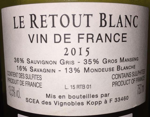 Le Retout Blanc 2015 part2