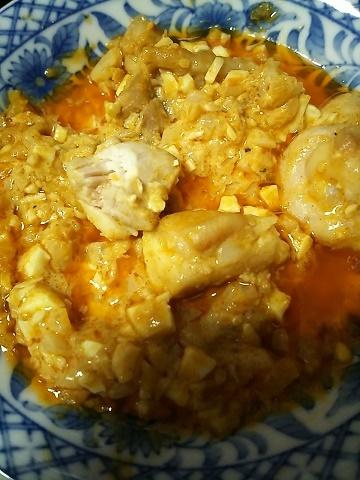 タルタルソース入り鶏肉
