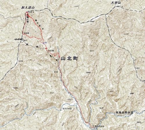 181108 篠大滋沢軌跡