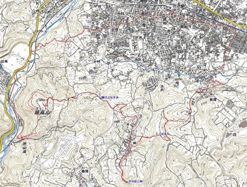 181114 頭高山軌跡