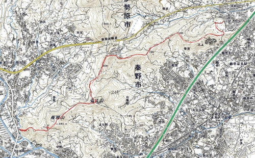 181116 鶴巻山稜