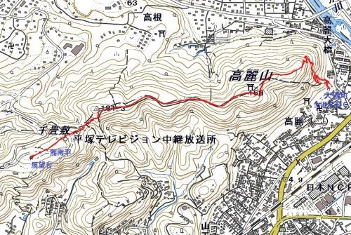 181118 湘南平軌跡