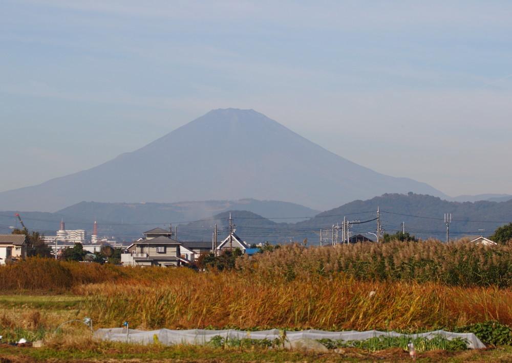 2D7A5305雪の消えた富士山