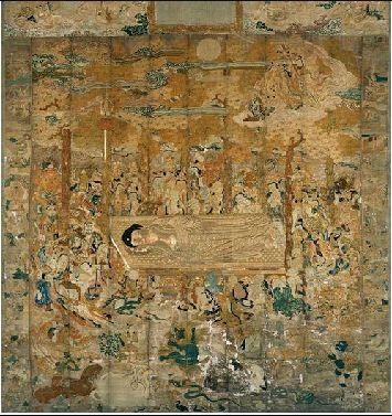 釈迦と枇杷