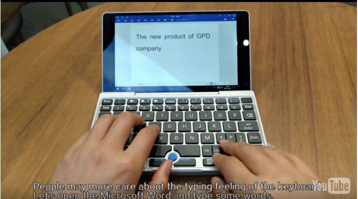 GPD Pocket その3