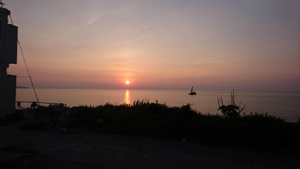 【地元の夕日の美しさ】