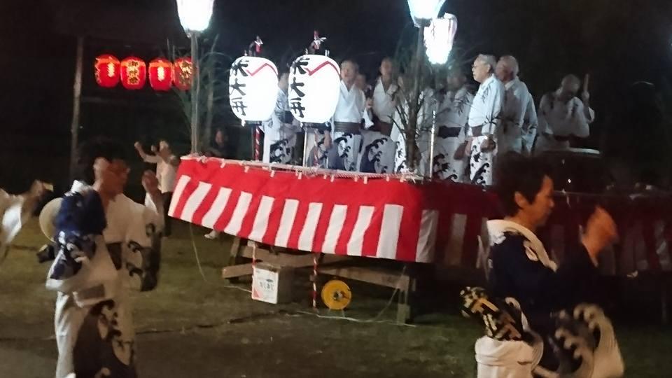【地元の祭・土底のさんち】-1