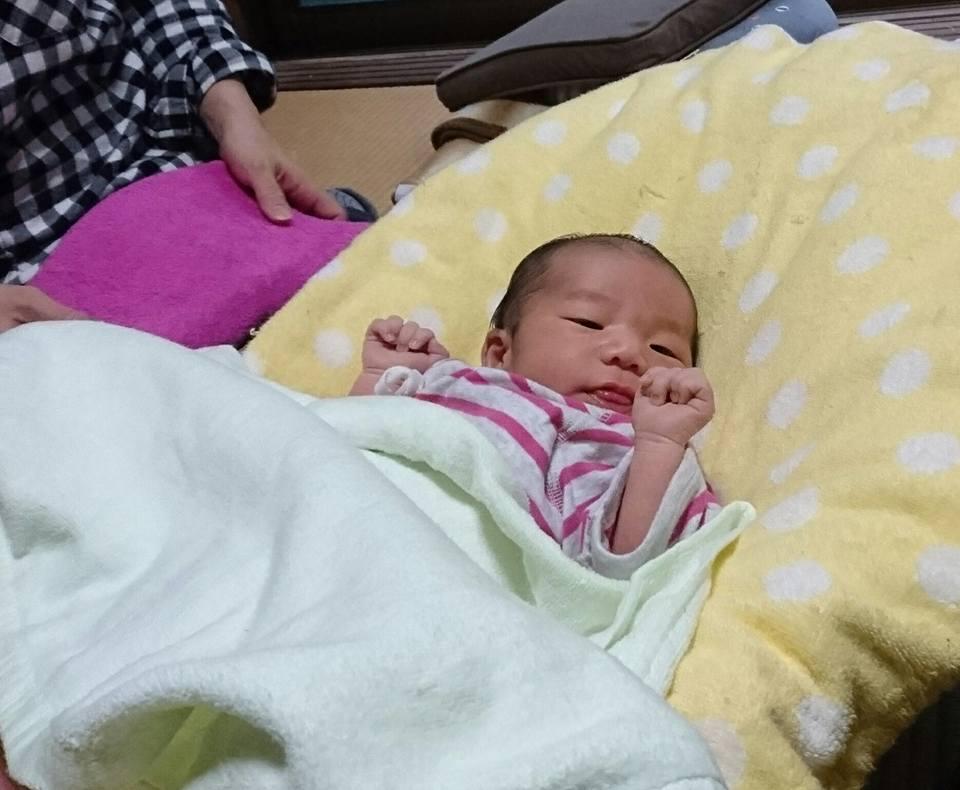 【5人目の孫誕生見舞い】-4