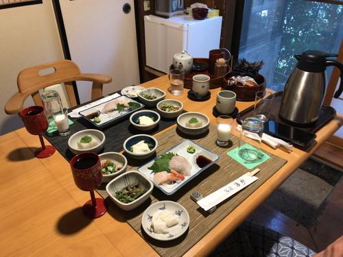 蕎宿 湯神(食事と感想と湯野上温泉駅)