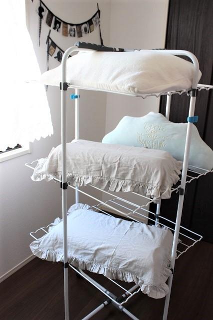 フィネス 物干し台 寝室 (3)