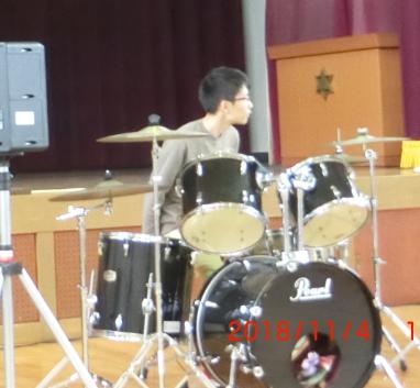 裕貴のドラム