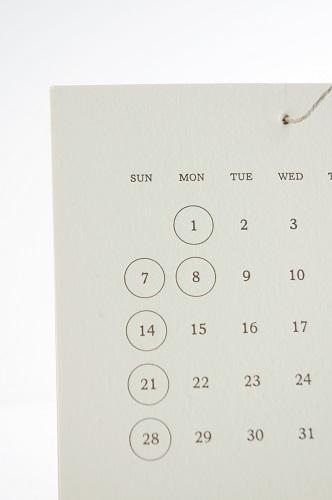 s-壁掛けカレンダー 4
