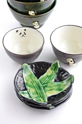s-パンダと笹皿